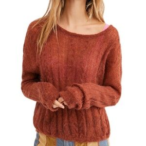 NWT Free People  Soft Pullover Sweater